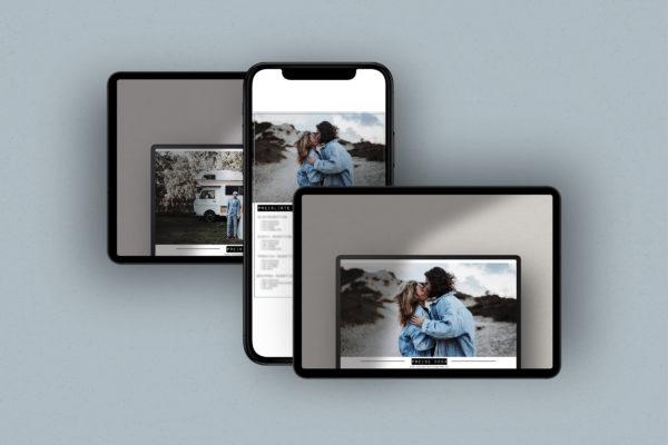 Preisliste Vorlage für Fotografen
