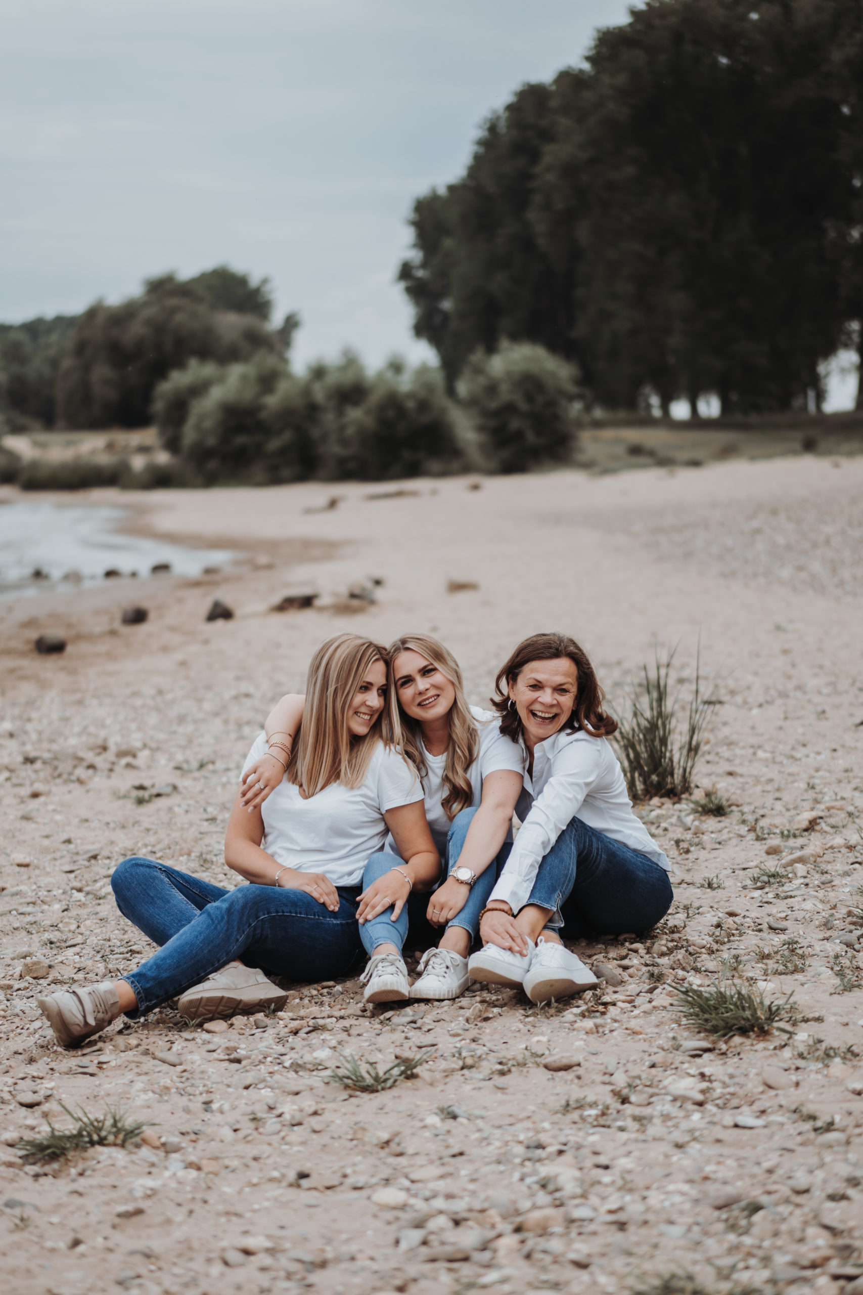Familienshooting am Rhein