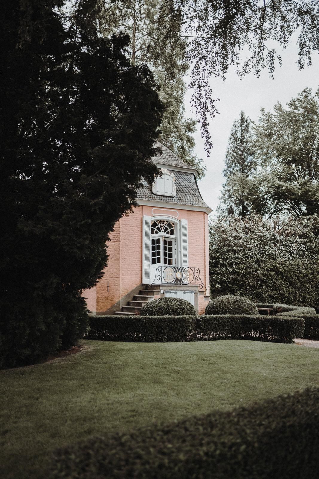 Rokoko Pavillon Nettetal Hochzeit